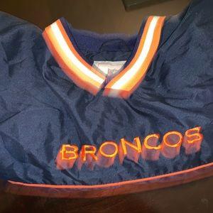 Vintage 90s Denver Broncos Windbreaker